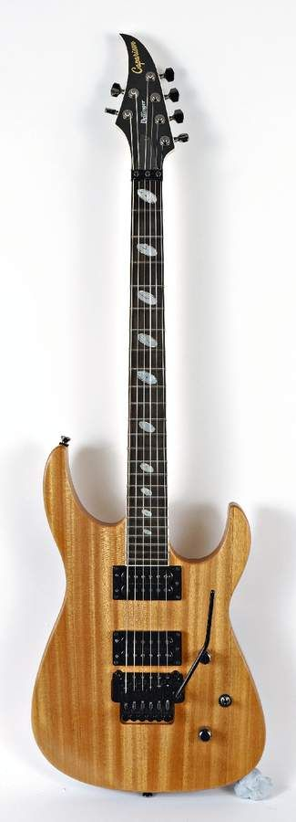 The Dellinger II blends the cutting-edge Caparison design with a more vintage feel