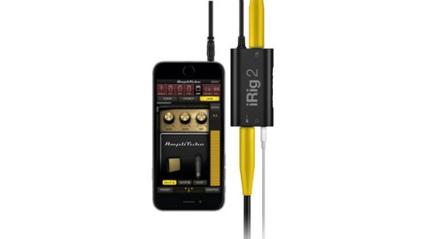 The iRig 2 adds a useful full-size jack output complete with an FX/Thru switch for connecting to an amp/monitor