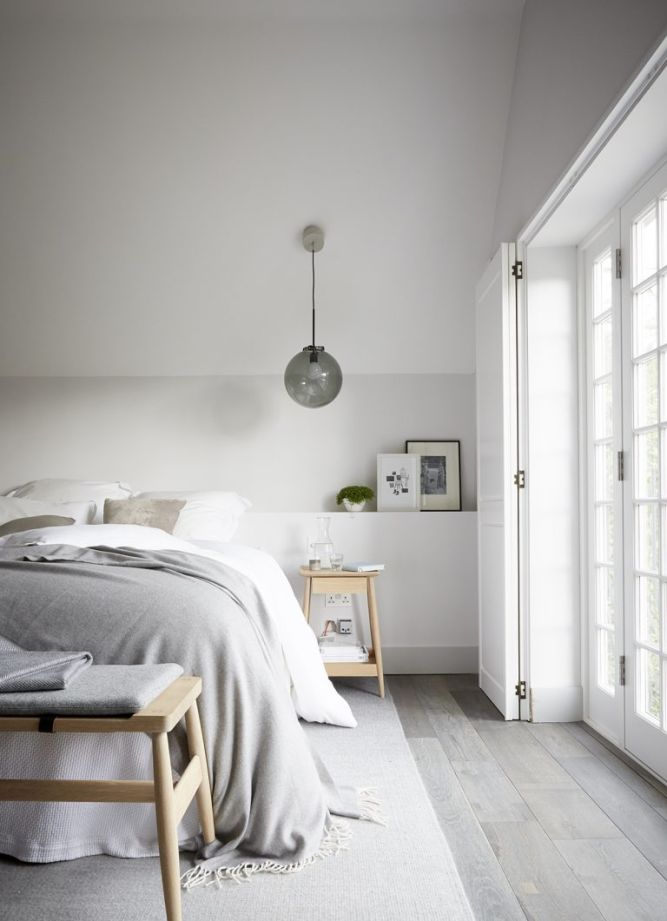grey and white bedrooms calm and rustic bedroom ideas and interior inspiration 15490