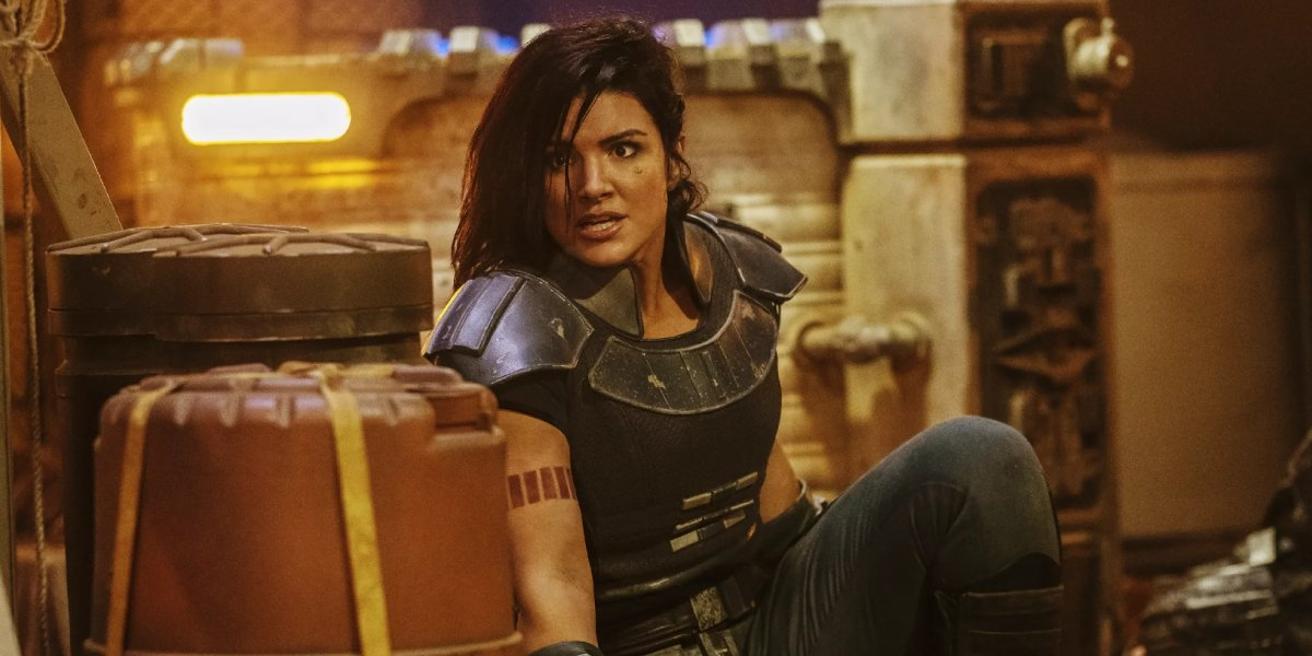 Gina Carano as Cara Dune in The Mandalorian
