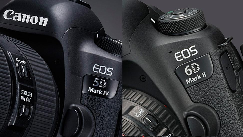 Canon EOS 5D Mark IV vs EOS 6D Mark II: Specs compared | Digital