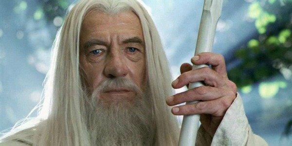 Ian McKellen as Gandalf The White