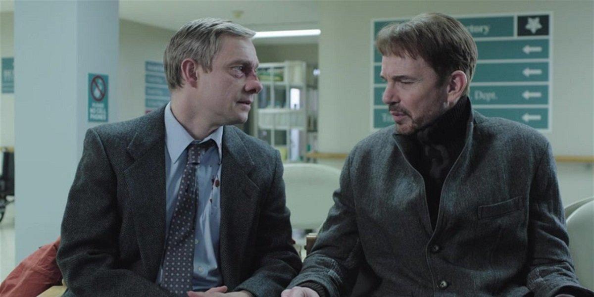 Martin Freeman and Billy Bob Thornton in Fargo Season 1