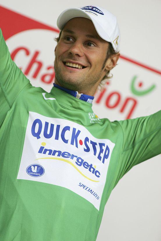 Tom Boonen Tour de France 2007 green jersey