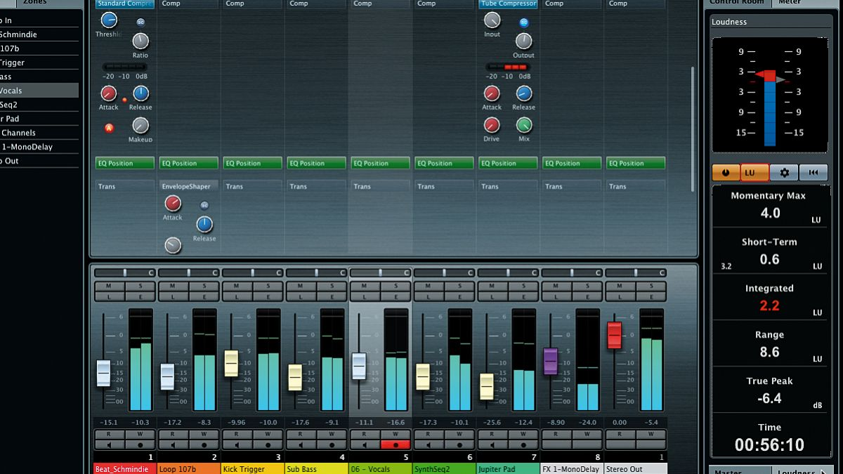 Working with Cubase 7's new Mix Console   MusicRadar