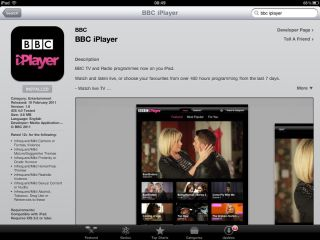 BBC iplayer for iPad