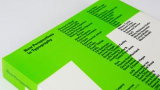 New book is a typographical treat for designers