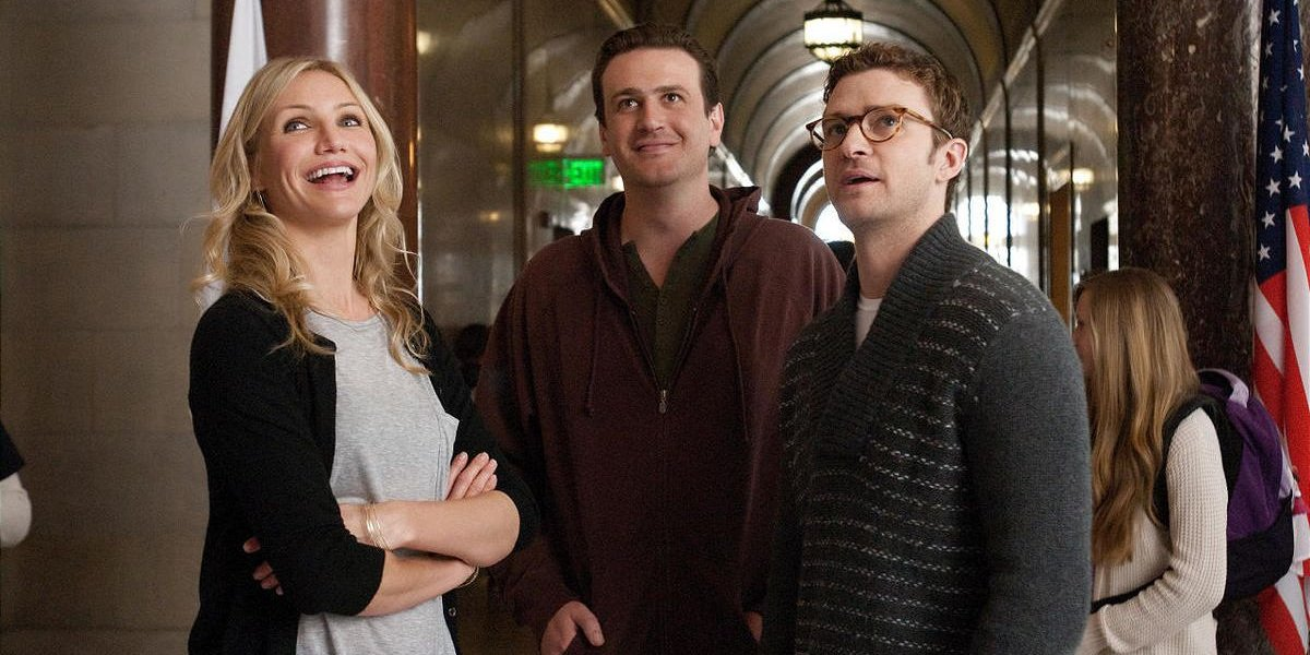 Cameron Diaz, Jason Segel, and Justin Timberlake in Bad Teacher