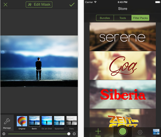 Best photo app: Tadaa
