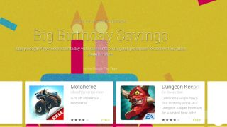 Google celebrates Google Play s birthday with in app purchase discounts