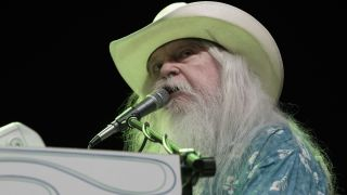 Leon Russell performing in Texas in 2016.