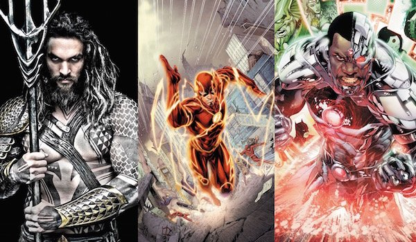 How Are Aquaman, The Flash And Cyborg Involved?