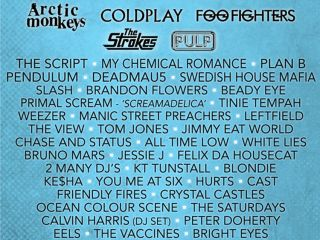 Some of the confirmed acts so far...