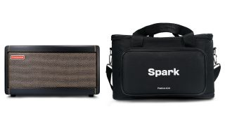 Positive Grid Spark 40 amp and bag