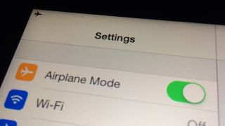 iPad airplane mode