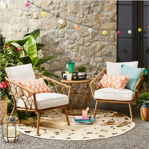 These patio furniture sales can help spruce up your outdoor space for little $$s this August | Real Homes
