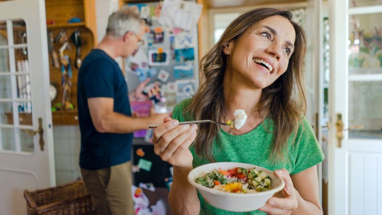 The right menopause diet can keep to a healthy weight, manage symptoms and look after your health in the long term