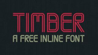 Font of the day: Timber