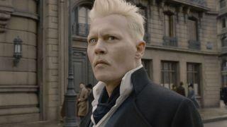 Johnny Depp in Fantastic Beasts