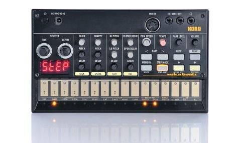 The Volca Beats takes some inspiration from Roland's tiny vintage TR808 machine