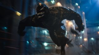 Venom charges in Venom: Let There Be Carnage