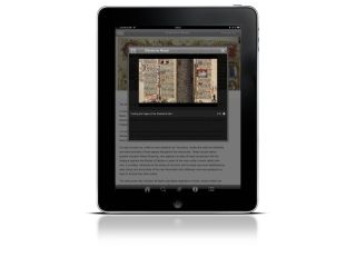 iPad and smartphone 'Treasures' app released by the British Library this month