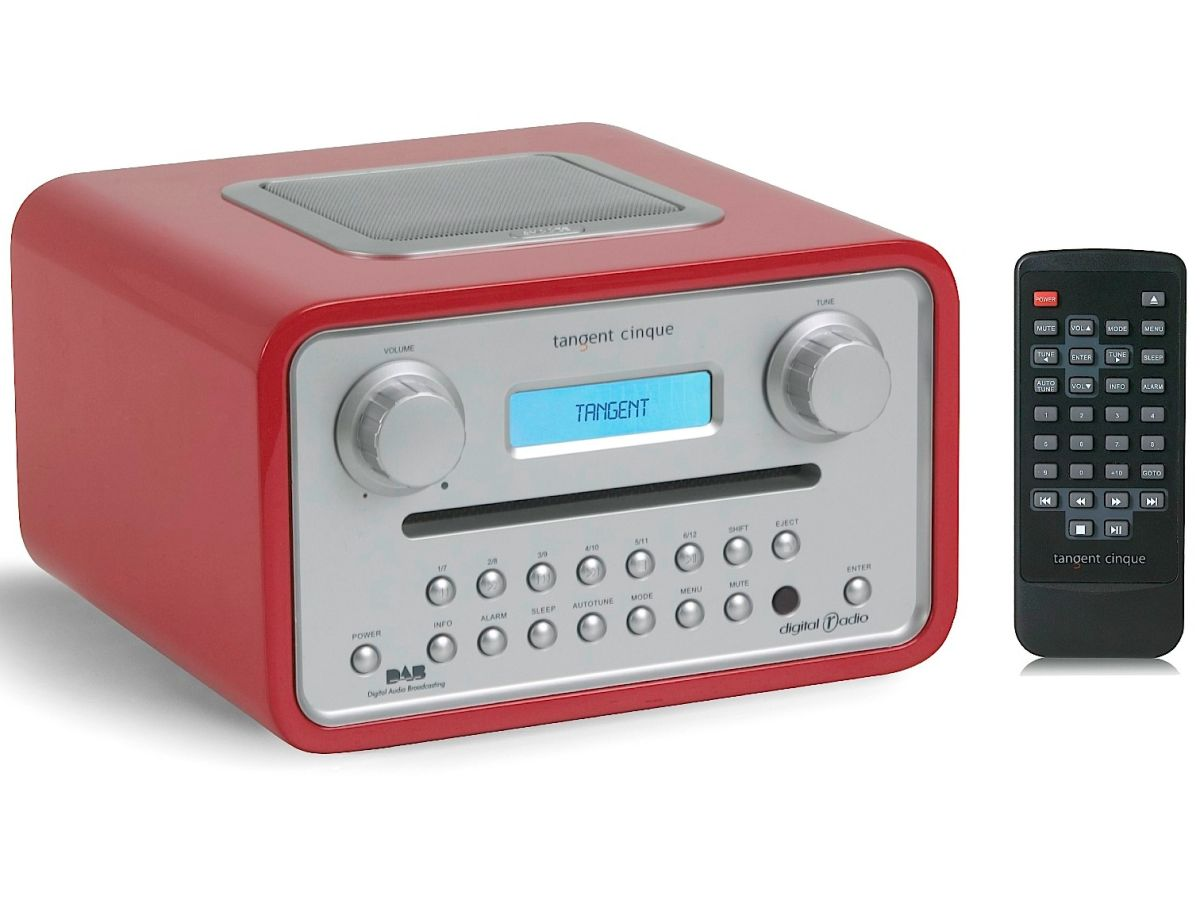 New tabletop radio/CD player from Tangent