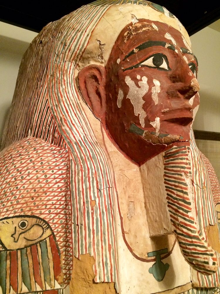 In Photos: Ancient Egyptian Coffin with 'Odd' Art | Live