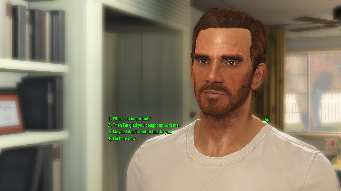 Fallout 4 mod provides improved conversation UI | PC Gamer