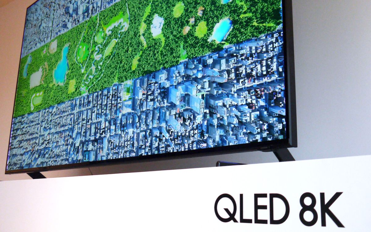 Hands-on with Samsung's 8K TV: This Is Sheer Madness