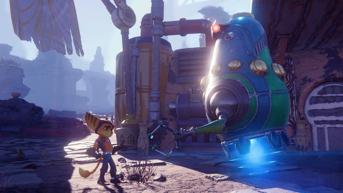 Ratchet and Clank: Rift Apart has a cameo from Ratchet and Clank: All 4 One