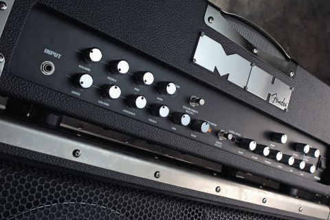 The amp has 16 effects, from adding polish to over-the-top flanging