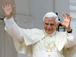 The Pope brags about the number of Facebook friends he has