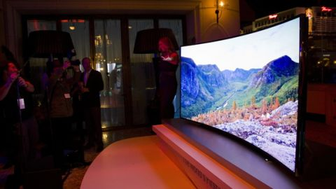 Hands On Samsung 105 Inch Curved Ultra Hd 4k Tv