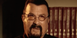 Watch Steven Seagal Walk Out Of Interview Over Sexual Assault Question