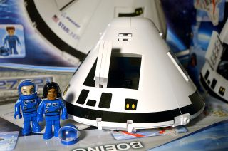 Cobi, a Polish toy company, has released a building block model of Boeing's CST-100 Starliner crew spacecraft.