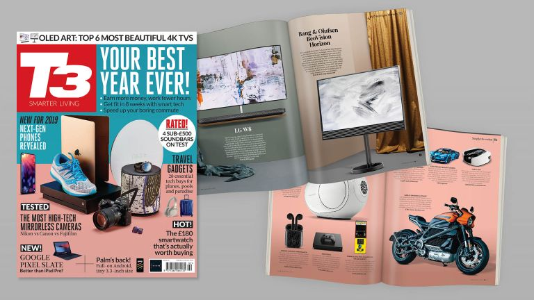Make 2019 your best year ever with the latest tech – all in the new issue of T3 magazine!