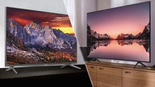 TCL 6-Series Roku TV (R635) vs. Samsung Q60T QLED