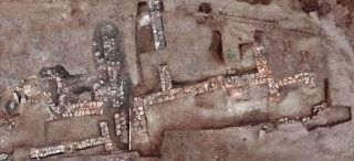 The remains of residential buildings found at Tenea date between roughly 300 B.C. and A.D. 400.