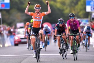 Amy Pieters (Boels Dolmans) wins the GP de Plouay