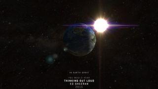 How far has pop music travelled through space