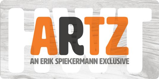 Font of the day: HWT Artz