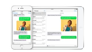 Apple continuity SMS