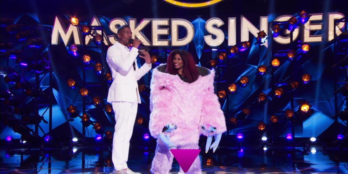 Chaka Khan as Miss Monster on The Masked Singer