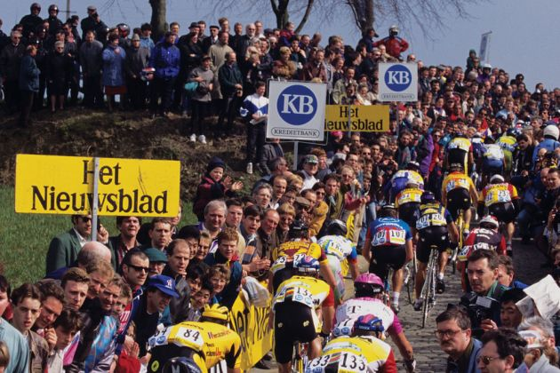 Tour-of-Flanders,-Patersberg-1992