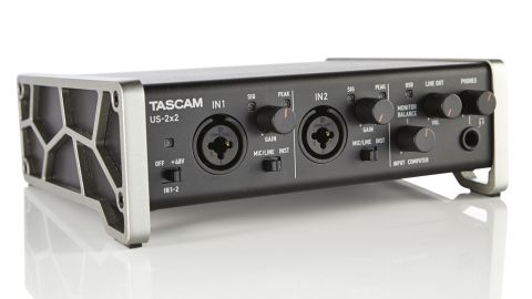 In comparison to the lightweight construction and feel of some rival interfaces, Tascam's smallest model is reassuringly rugged
