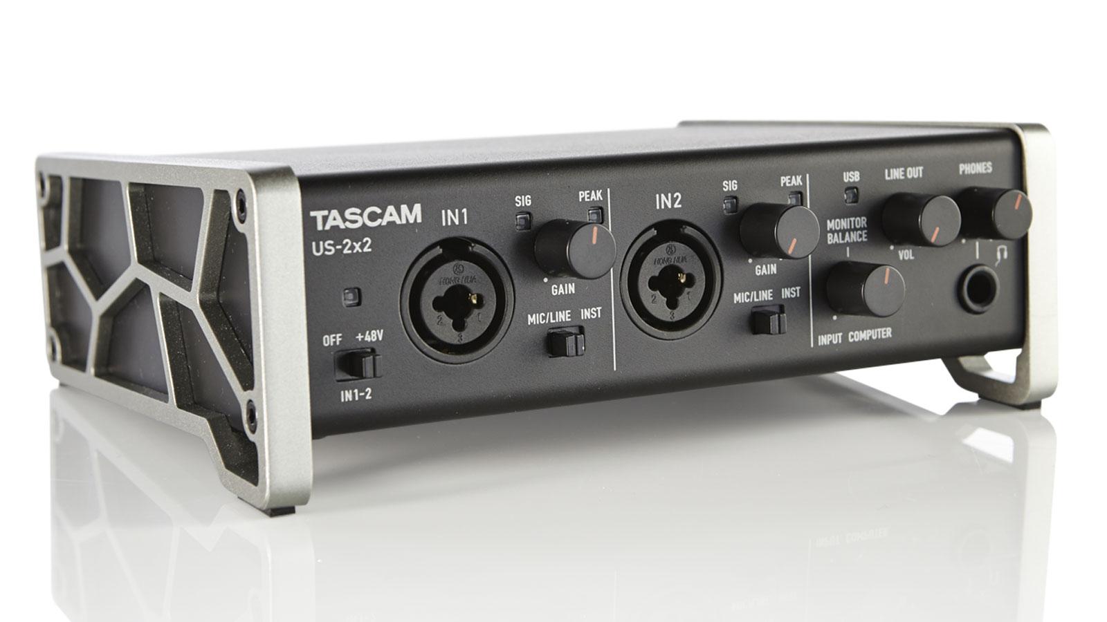 Tascam US-2x2 review | MusicRadar