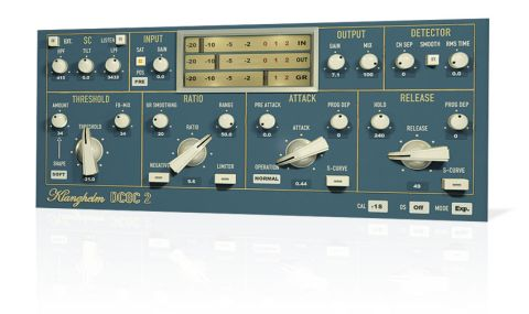 In Easy mode, DC8C 2 looks much like any other compressor, with the usual dynamics-shaping parameters on board