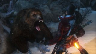 Rise of the Tomb Raider bear