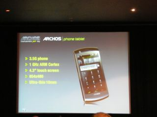 The new Archos Android phone